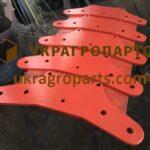 Н0405520 Пластина кріплення стойок